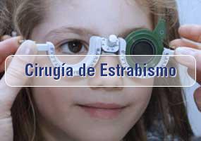 Cirugía de Estrabismo