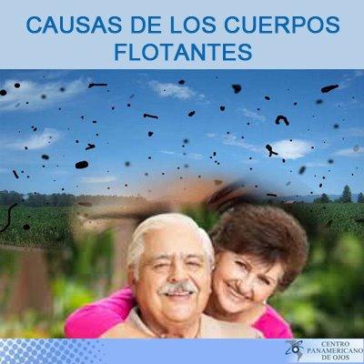 causas de los cuerpos flotantes de los ojos