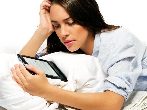 Consejos para leer con un e-book