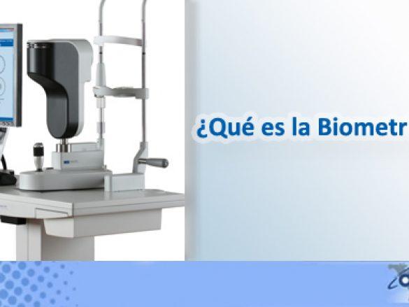 ¿Qué es la biometría ocular?