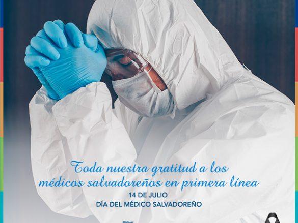 14 de Julio día del Médico Salvadoreño