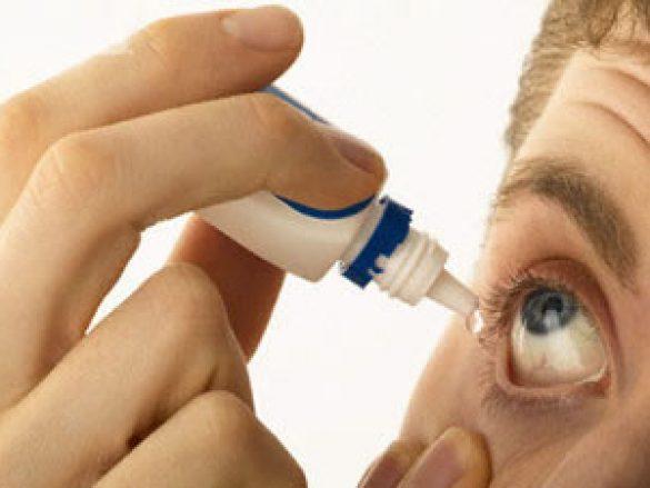 ¿Cómo aplicar las gotas para ojos?