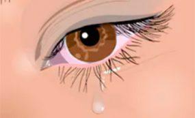 Efectos del viento en los ojos